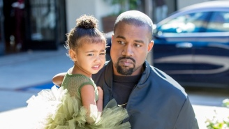 Kanye West Didn't Like The Morbid Prank His Kids Pulled On April Fools' Day