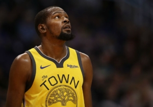 Miami Football Coach Manny Diaz Somehow Blamed Kevin Durant For Making Recruiting Hard