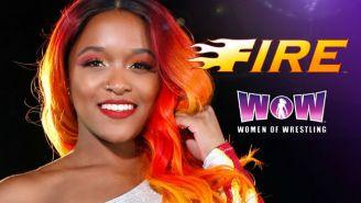 Kiera Hogan Becomes A Superhero For WOW Women Of Wrestling