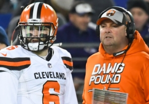 The Browns Will Reportedly Make Offensive Coordinator Freddie Kitchens Their Next Head Coach