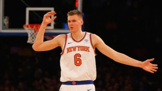 The Knicks And Mavericks Are Finalizing A Monster Kristaps Porzingis Trade