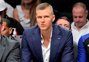 Kristaps Porzingis Was Left Bloodied After Being Jumped At A Club In Latvia