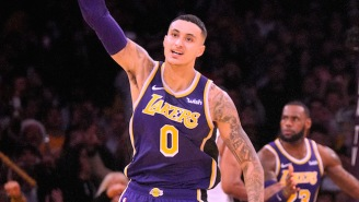 Kyle Kuzma Set A Career-High With 41 Points In Three Quarters Against Detroit
