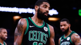 Kyrie Irving Was Not Happy With Gordon Hayward's Decision Making At The End Of Celtics-Magic