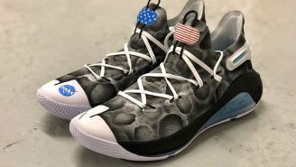 Steph Curry Is Auctioning Off NASA-Themed 'Moon Landing' Curry 6s For Charity