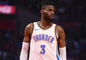 Nerlens Noel Was Stretchered Off After Taking An Andrew Wiggins Forearm To The Head