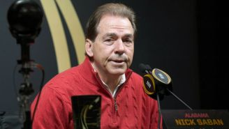 Alabama Head Coach Nick Saban Unsurprisingly Has Not Seen 'Bird Box' Yet