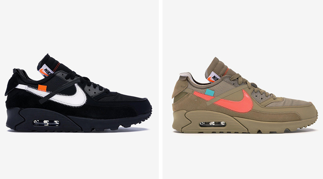 c4fcb171129 The Nike X Off-White Air Maxes Will Cost You Some Coins