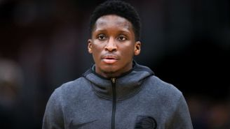 Victor Oladipo's Season Is Over After Rupturing His Quad Tendon In His Right Knee