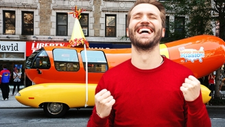 Banish Your Millennial Burnout By Getting Paid To Drive A Car Shaped Like A Hot Dog