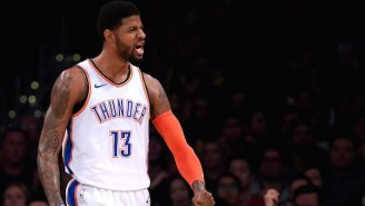 Paul George Hit A Tough Floater To Seal A Gritty Double-Overtime Win Against The Jazz