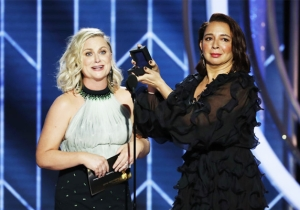 The Best Part Of The Golden Globes: Amy Poehler And Maya Rudolph Made Their Case As Oscar Hosts