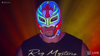 Rey Mysterio Made A Surprise Appearance At NXT San Diego
