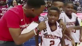 This Kid Drained A Half-Court Buzzer-Beater During A Halftime Scrimmage In Washington