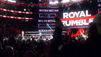 Check Out The First Pics Of This Year's Royal Rumble Set From Chase Field