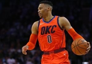 Russell Westbrook Got Into It With Damian Lillard, Jusuf Nurkic, And Evan Turner