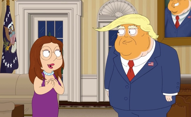 Family Guy Explains Most Offensive Scene In Donald Trump Episode