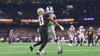 The Rams Got Away With A Blatant Pass Interference Against The Saints