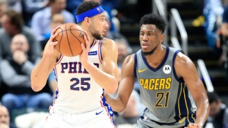 Last Night, In Basketball: A Halftime Adjustment Helped Ben Simmons Shred The Pacers