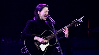 Watch St. Vincent Perform An Acoustic Cover Of Red Hot Chili Peppers' 'Breaking The Girl'