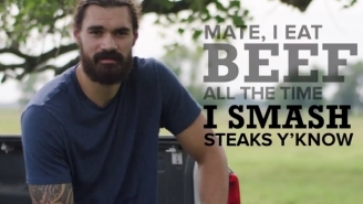 Steven Adams Asks You To 'Smash' More Beef In A Hilarious Commercial