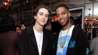 Kid Cudi, Kanye West, Pete Davidson, And Timothee Chalamet Celebrated Cudi's Birthday With Sushi