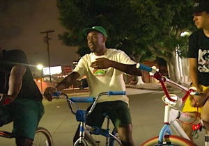 Tyler The Creator And Frank Ocean Returned To Their Skater Roots To Kick Knowledge On The Set Of 'Mid90s'