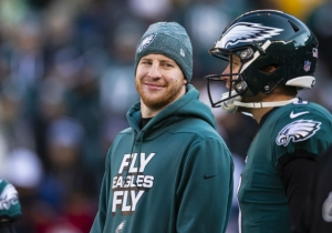 Eagles Players Defended Carson Wentz After A Report Claimed He's A Source Of Locker Room Tension