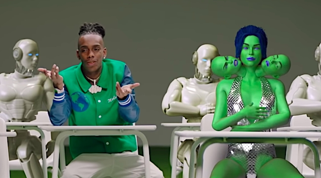 WATCH] YNW Melly And Kanye's Surreal 'Mixed Personalities' Video