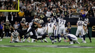 The Rams Stunned The Saints On A 57-Yard Field Goal In Overtime To Make The Super Bowl