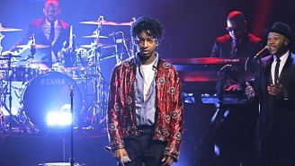 21 Savage's Managers Tried To Arrange A Show Of Solidarity For Him At The 2019 Grammys