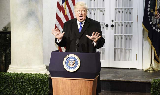 Alec Baldwin Slams Trump For Presenting A Threat To The Safety Of Him And His Family
