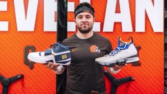 Baker Mayfield Wasn't Sure If He Could Wear Rare Nikes LeBron Gave Him