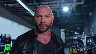 Dave Batista Made A Violent Return To WWE To End Monday Night Raw