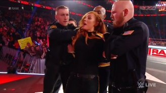 Becky Lynch Was Arrested On Raw