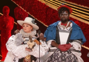 Melissa McCarthy And Brian Tyree Henry Stole The Oscars As The Best Costume Presenters