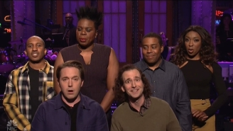 White 'SNL' Cast Members Interrupted The Show's Black History Month Segment To Do Some Whitesplaining