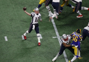 Tom Brady Threw An Interception On His First Pass Of The Super Bowl