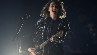 Brandi Carlile Gave A Rousing Performance Of 'The Joke' At The 2019 Grammys