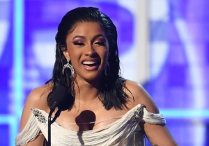 Cardi B Proves She's America's Sweetheart With Her Grammys Acceptance Speech For Best Rap Album