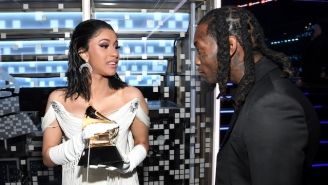 Offset Shared Video Of Cardi B Giving Birth As Part Of His New Album Announcement