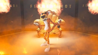 Cheetos Mascot Chester The Cheetah Has Some 'Flamin' Hot' Bars For Chance The Rapper And Doritos