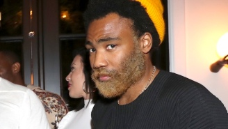 Childish Gambino Has A Bushy Blond Beard Now