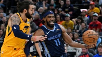 The Jazz Are Reportedly The 'Frontrunners' To Land Mike Conley This Week