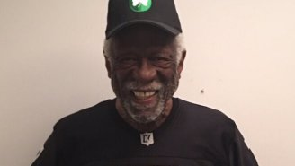 Bill Russell Rocked A Colin Kaepernick Jersey To Celebrate The Last Day Of Black History Month