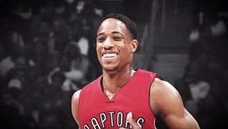 The Raptors Welcomed DeMar DeRozan Back To Toronto With An Emotional Thank You Video