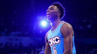 Thunder Rookie Hamidou Diallo Won The Dunk Contest By Jumping Over Shaq And Quavo