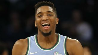 Donovan Mitchell Wants In On The Slam Dunk Contest Next Year If Giannis Antetokounmpo Participates
