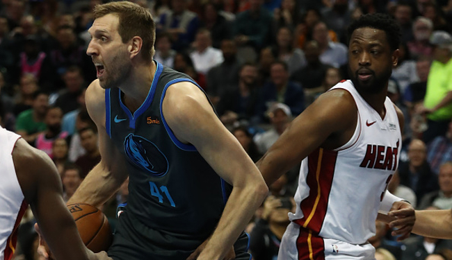 new products 0563d f55cf Dwyane Wade Exchanged Jerseys With Long-Time Rival Dirk Nowitzki