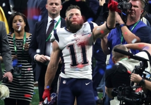 Patriots Receiver Julian Edelman Wins His First Super Bowl MVP